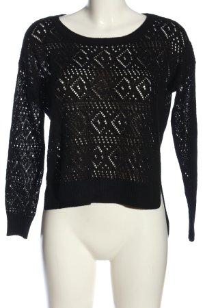 Tally Weijl Crewneck Sweater black casual look