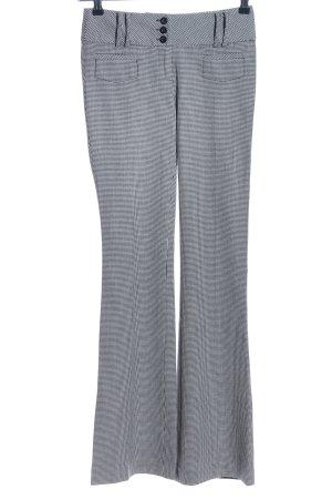 Tally Weijl Pantalone a zampa d'elefante grigio chiaro-nero motivo a quadri
