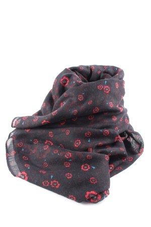 Tally Weijl Écharpe tube motif de fleur style décontracté