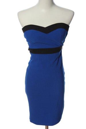 Tally Weijl Off-The-Shoulder Dress blue-black elegant