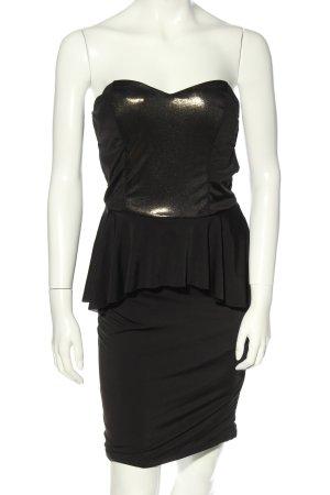 Tally Weijl schulterfreies Kleid schwarz Elegant
