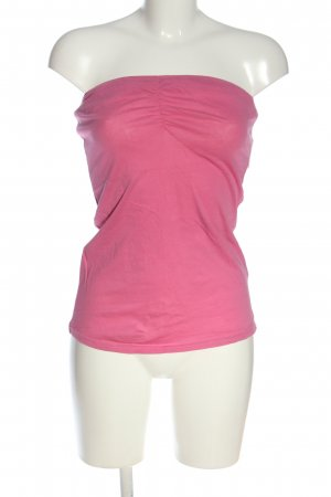 Tally Weijl Top sin hombros rosa look casual