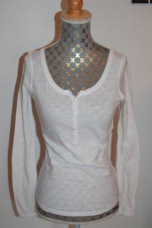Tally Weijl Shirt Longsleeve Gr. XXS semitransparent
