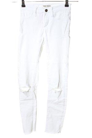 Tally Weijl Skinny Jeans weiß Casual-Look