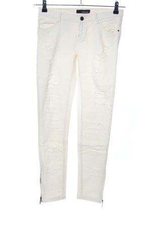 Tally Weijl Skinny Jeans wollweiß Casual-Look