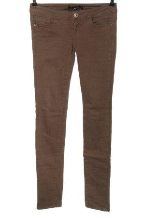 Tally Weijl Skinny Jeans braun Casual-Look