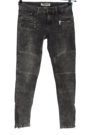 Tally Weijl Skinny Jeans hellgrau Casual-Look