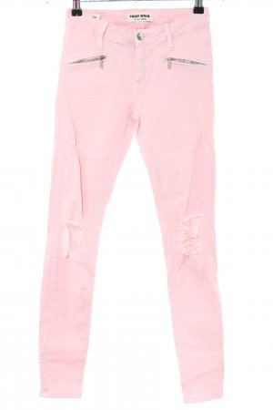 Tally Weijl Skinny Jeans pink Casual-Look