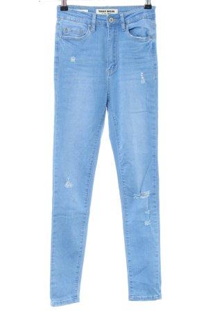 Tally Weijl Skinny Jeans blau Casual-Look