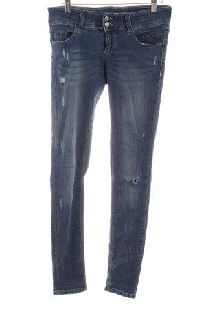 Tally Weijl Skinny Jeans stahlblau Casual-Look