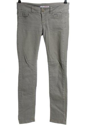 Tally Weijl Slim Jeans hellgrau Casual-Look