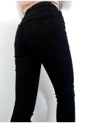Tally Weijl Smart Schwarze High Waist Skinny Jeans | Größe S/36