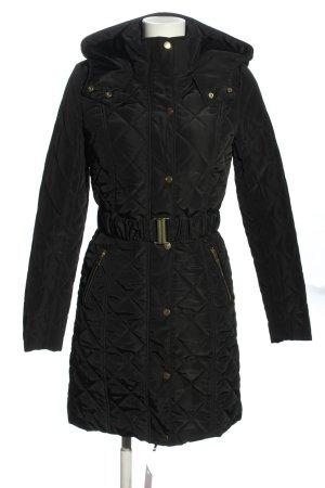 Tally Weijl Gewatteerde jas zwart quilten patroon casual uitstraling