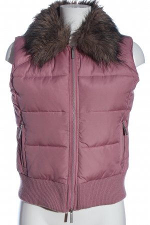 Tally Weijl Steppweste pink Steppmuster Casual-Look