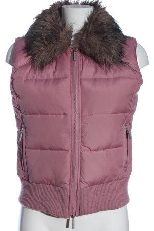 Tally Weijl Steppweste pink Steppmuster Casual-Look