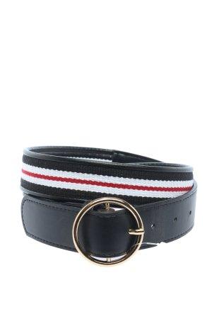 Tally Weijl Cinturón de tela estampado a rayas look casual