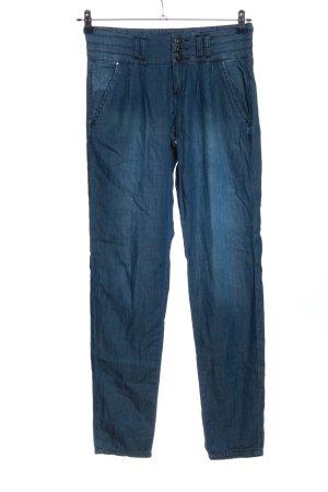 Tally Weijl Stoffhose blau Casual-Look
