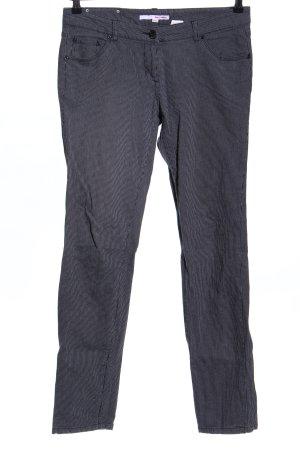 Tally Weijl Stoffhose schwarz-weiß Streifenmuster Casual-Look