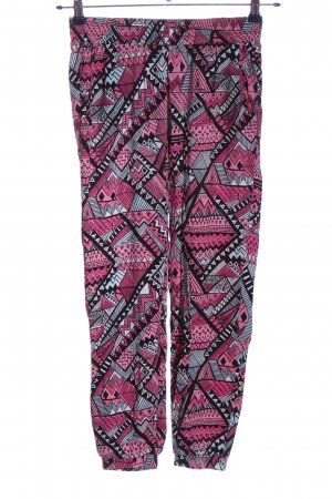 Tally Weijl Stoffhose Allover-Druck Casual-Look