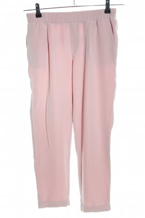 Tally Weijl Stoffhose pink Streifenmuster Casual-Look