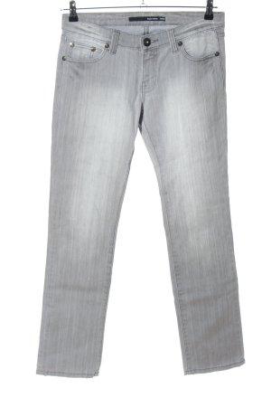 Tally Weijl Straight-Leg Jeans hellgrau Casual-Look