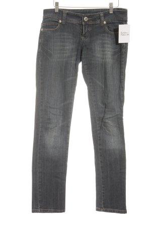 Tally Weijl Straight-Leg Jeans dunkelblau Street-Fashion-Look