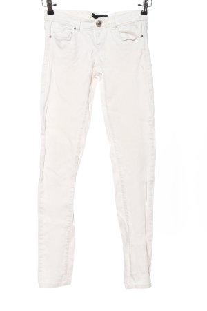 Tally Weijl Jeansy ze stretchu biały W stylu casual