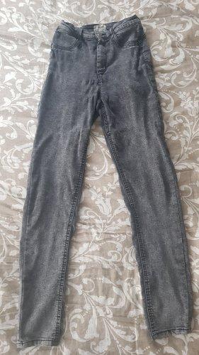 Tally Weijl Hoge taille broek grijs-donkergrijs
