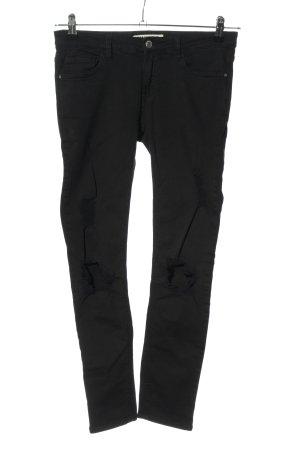 Tally Weijl Stretchhose schwarz schlichter Stil