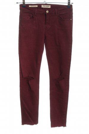 Tally Weijl Stretchhose rot Casual-Look