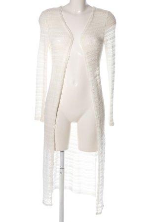 Tally Weijl Cardigan in maglia bianco Colore sfumato stile casual