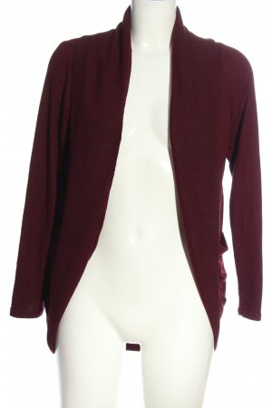 Tally Weijl Strick Cardigan rot Casual-Look