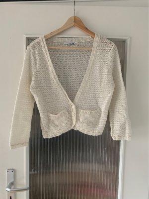 Tally Weijl Chaqueta de lana blanco puro-crema