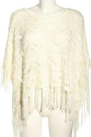 Tally Weijl Strickponcho creme Casual-Look