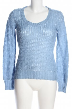 Tally Weijl Strickpullover blau Casual-Look