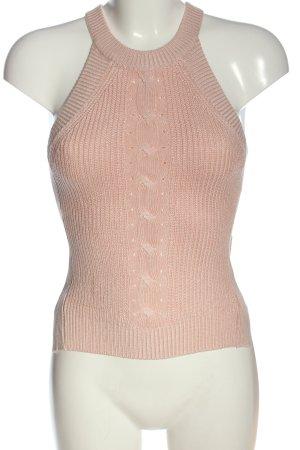 Tally Weijl Stricktop pink Casual-Look