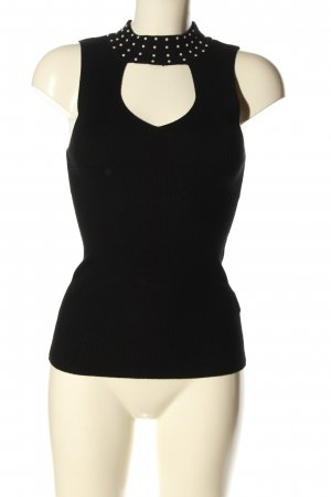 Tally Weijl Knitted Top black casual look