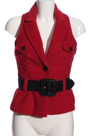 Tally Weijl Smanicato lavorato a maglia rosso puntinato stile casual