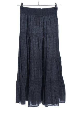 Tally Weijl Broomstick Skirt blue allover print casual look