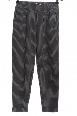 Tally Weijl Pantalón deportivo gris claro-blanco look casual