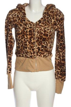 Tally Weijl Sweatjack luipaardprint extravagante stijl
