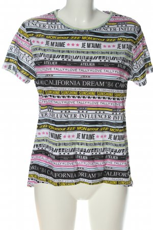 Tally Weijl T-Shirt Mustermix Casual-Look