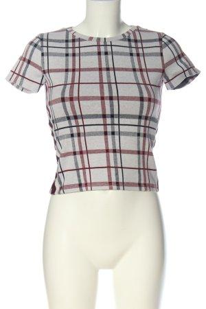 Tally Weijl T-shirt motivo a quadri stile casual