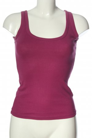 Tally Weijl Tanktop pink Zopfmuster Casual-Look