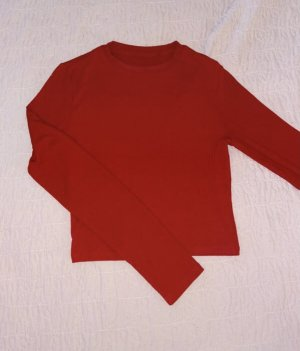 Tally Weijl Camicia lunga rosso-rosso scuro