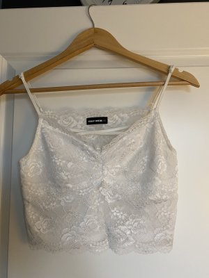 Tally Weijl Lace Top white