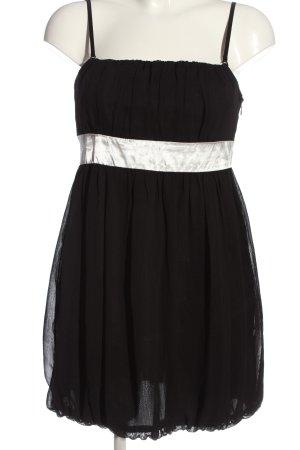 Tally Weijl Trägerkleid schwarz-weiß Elegant