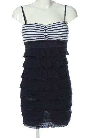 Tally Weijl Trägerkleid schwarz-weiß Streifenmuster Casual-Look
