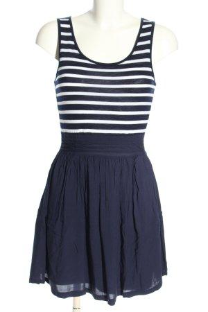 Tally Weijl Trägerkleid blau-weiß Streifenmuster Casual-Look