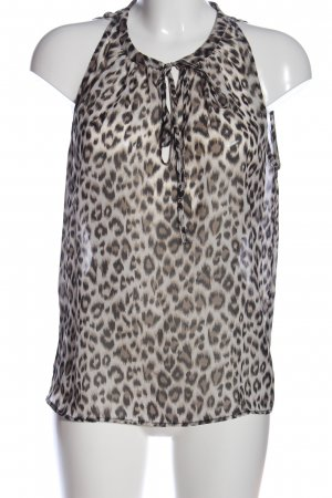 Tally Weijl Transparenz-Bluse Leomuster Casual-Look